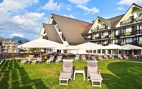 4* Hotel Kompas Bled blízko jezera Bled se snídaní