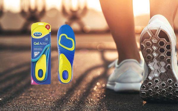 Gelové vložky do bot Everyday pro ženy i muže
