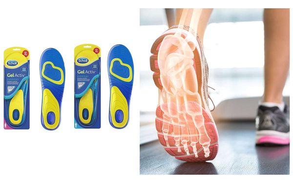 Gelové vložky do bot Everyday pro ženy3
