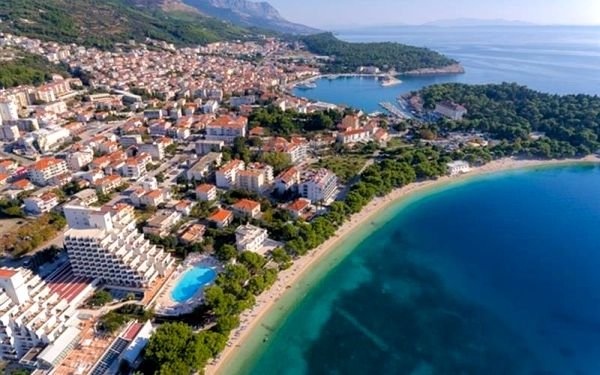 Chorvatsko - Makarska na 6-15 dnů