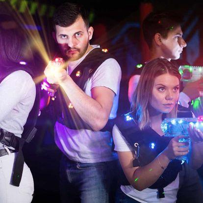 Laser game v nejmodernější 3D aréně až pro 4 osoby