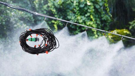 Chladicí systém do zahrady s 10 tryskami na vodní mlhu