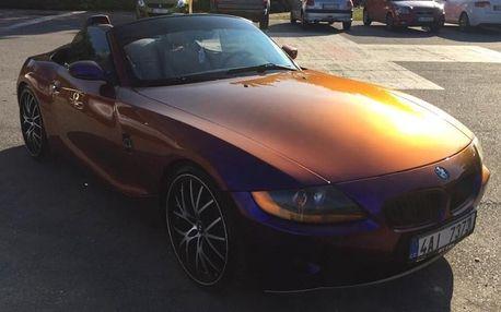 Pronájem kabrioletu BMW Z4 na 24 hodin i týden