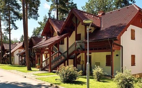 Slovinské termály: vilky u jezera a sauny