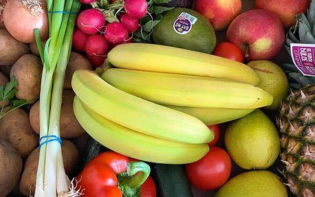 5–9 kg ovoce a zeleniny: rozvoz do 30 km od Prahy