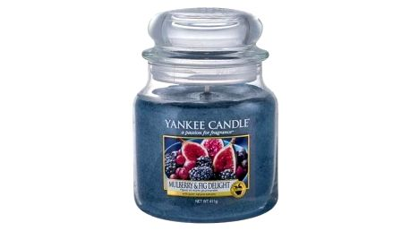 Yankee Candle Mulberry & Fig Delight 411 g vonná svíčka unisex