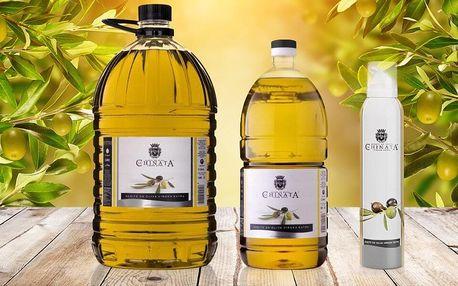 Extra panenský olivový olej ze Španělska - ve spreji či v balení