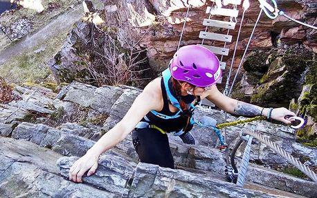 Celodenní kurz lezení po ferratách pro 1 či 2 os.