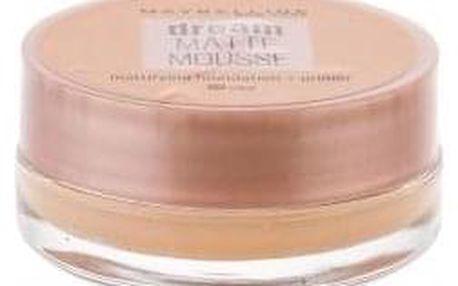Maybelline Dream Matte Mousse SPF15 18 ml sametový matující makeup pro ženy 30 Sand