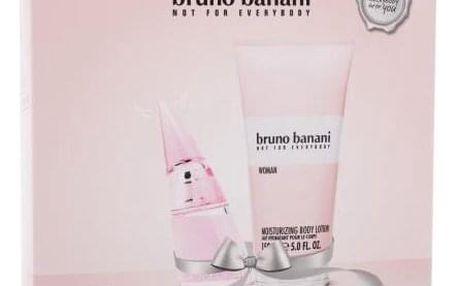 Bruno Banani Woman dárková kazeta pro ženy toaletní voda 20 ml + tělové mléko 150 ml