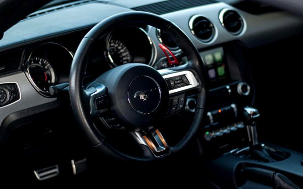15 min (15 km) jízda ve Ford Mustang GT 5.0 jako řidič bez paliva4