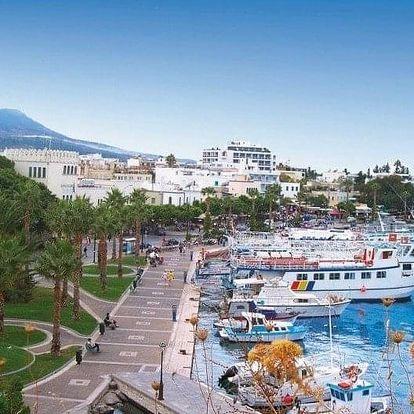 Řecko - Kos letecky na 8-15 dnů, snídaně v ceně