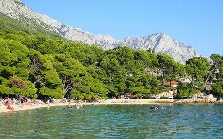 Chorvatsko - Brela letecky na 8-9 dnů