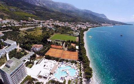 Chorvatsko - Tučepi letecky na 8-9 dnů, all inclusive