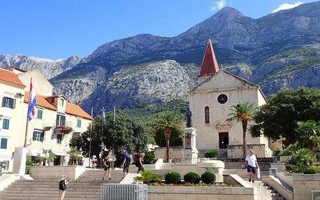 Chorvatsko - Makarska letecky na 8 dnů