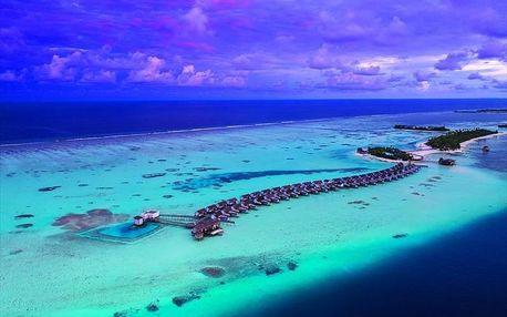 Maledivy - Jižní Atol Male letecky na 8-15 dnů, ultra all inclusive