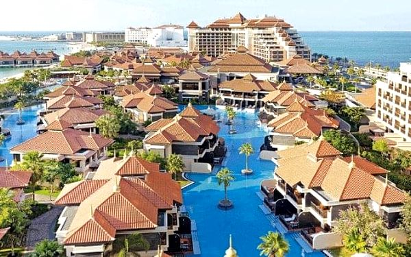 HOTEL ANANTARA THE PALM DUBAI, Dubai, Spojené arabské emiráty, Dubai, letecky, polopenze2