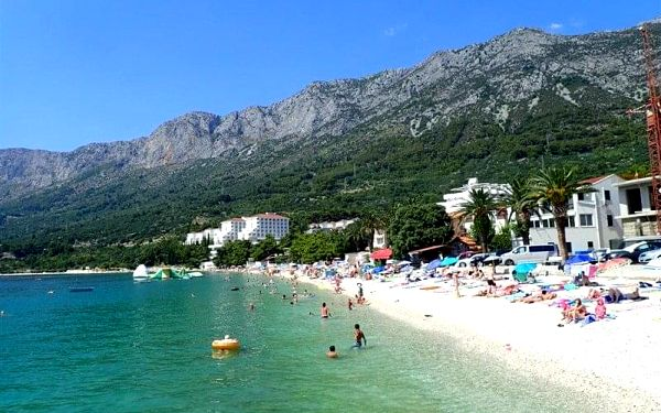 Hotel GRADAC, Gradac, Chorvatsko, Gradac, letecky, all inclusive3
