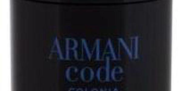 Giorgio Armani Code Colonia 75 g deodorant deostick pro muže