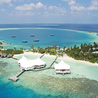 Maledivy letecky na 7 dnů, polopenze