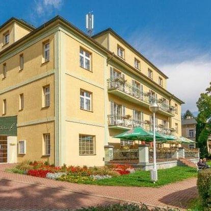 Konstantinovy Lázně: Hotel Jirásek *** s wellness (bazén), masáží, solnou jeskyní a polopenzí + kulturní akce