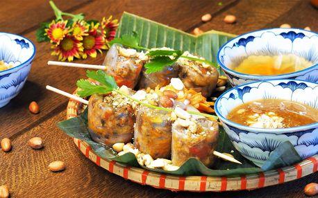 Vietnam pro 1–4 os.: polévka a druhý chod na výběr