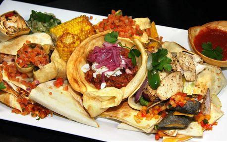 Tříchodové menu plné mexických specialit pro dva