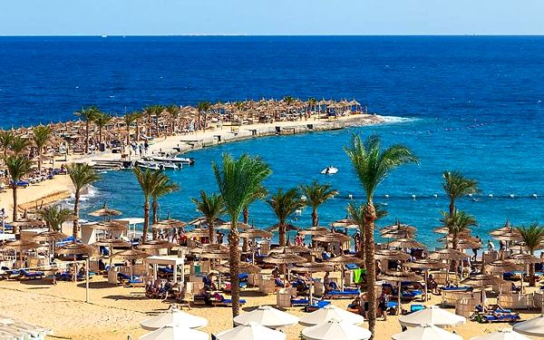 Hotel Beach Albatros Resort, Hurghada, letecky, all inclusive5