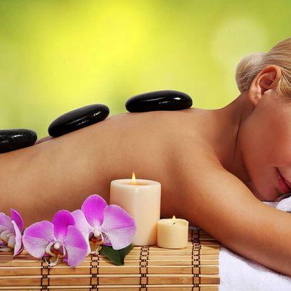 Účinná masáž lávovými kameny
