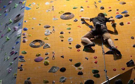 Základní kurz lezení na umělé stěně pro 1 i 2 os.