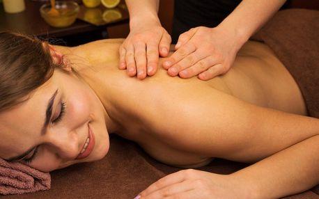 30–90min. prohřívací masáž s olejem z citronové trávy