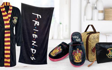 Župany i papuče Harry Potter, Přátelé či Riverdale