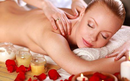 Hodinová celotělová aroma masáž éterickými oleji