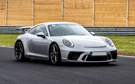 Spolujezdcem v Porsche GT3 na velkém okruhu v Mostě