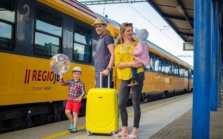 Chorvatsko - Makarska vlakem na 8 dnů, plná penze