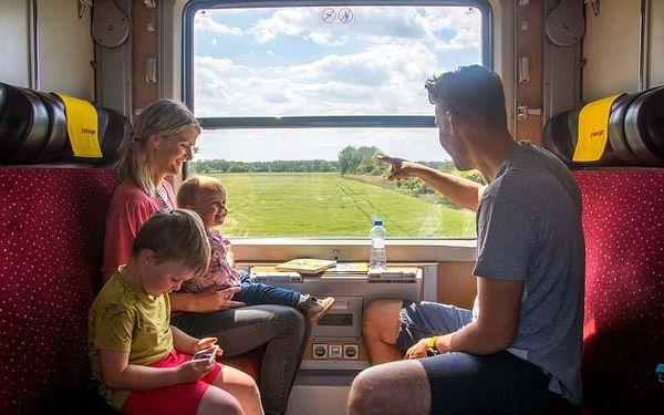 Chorvatsko - Makarska vlakem na 6 dnů, polopenze