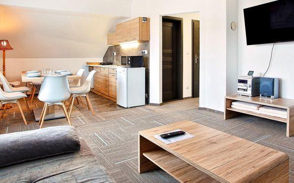 Liptovský Mikuláš: moderní apartmány s terasou