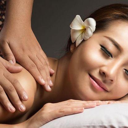 Asijská spa masáž dle výběru a aroma lázeň