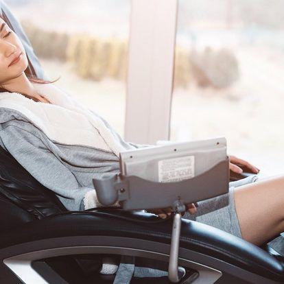 Masáž na masážním křesle: 20min. masáž i permanentky