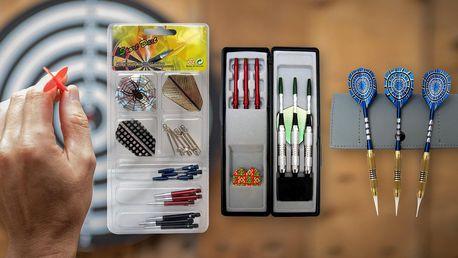 Sady značkových šipek Sport Darts a náhradní díly