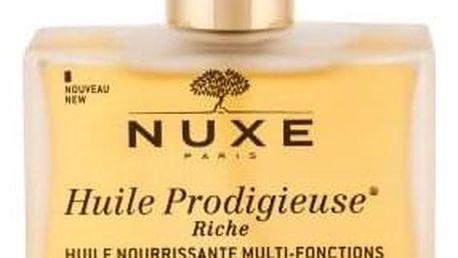 NUXE Huile Prodigieuse Riche Multi-Purpose Oil 100 ml multifunkční olej pro suchou pokožku a vlasy tester pro ženy