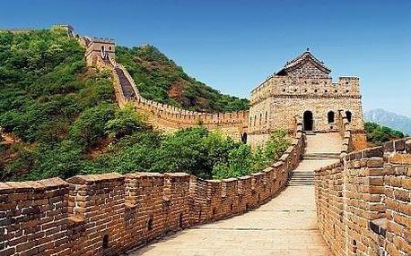 Čína letecky na 11 dnů, strava dle programu