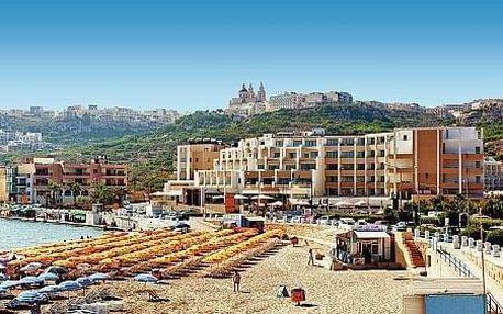 Malta letecky na 8-15 dnů, all inclusive