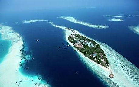 Maledivy letecky na 9 dnů
