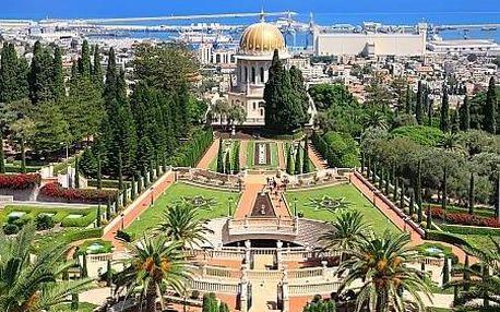 Izrael letecky na 8 dnů, strava dle programu