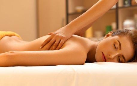 Hubnoucí či lymfatická masáž i pleťová maska