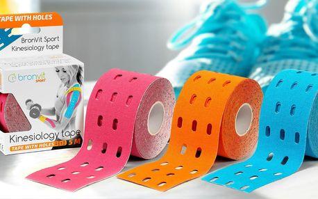 Tejpovací pásky BronVit 5 m x 5 cm: 12 barev