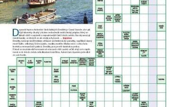 Roční předplatné časopisu Křížovkář + speciál Čas na dovolenou3