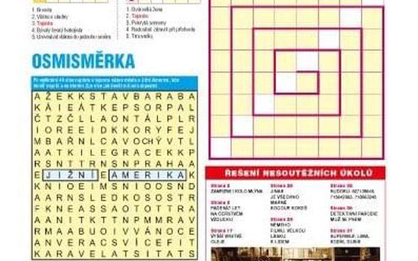 Roční předplatné časopisu Křížovkář + speciál Čas na dovolenou4