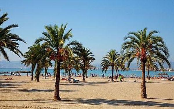 Whala!Beach Apartmá, Mallorca, letecky, snídaně v ceně5